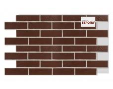Термопанель Европа Braun genarbt