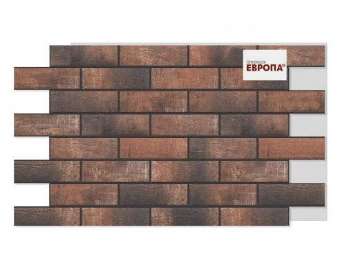 Термопанель Европа Loft brick chilli