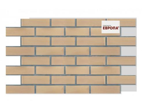 Термопанель Европа Скала светло-коричневая